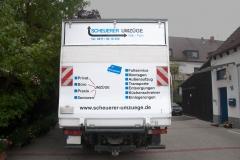 Eines unserer Transportfahrzeuge